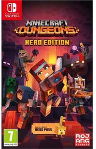 Minecraft: Dungeons - Édition Hero sur PS4 et Switch