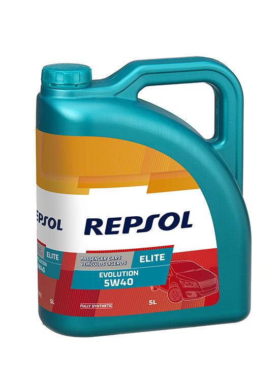 1 Bidon d'Huile Repsol Evolution 5W40 - 5L