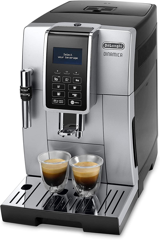 Machine à expresso avec broyeur de café De'Longhi Dinamica ECAM 350.35.SB