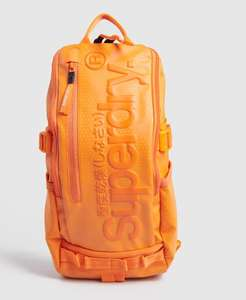 Sac bandoulière Superdry - 2 coloris disponibles : Orange Vif, Camouflage Vert