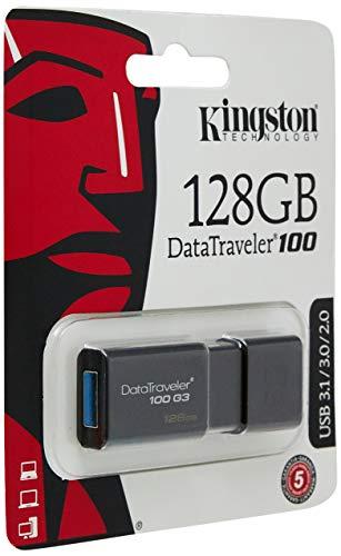 Clé USBKingston Data traveler 100 - 128 Go (vendeur tiers)