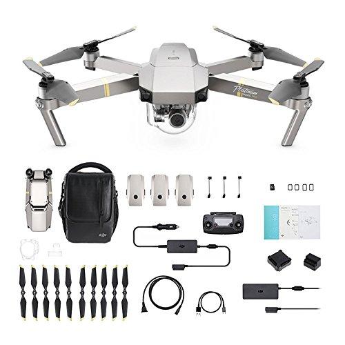 Drone quadicroptère DJI Mavic Pro Fly More Combo Platinum (Version UE)