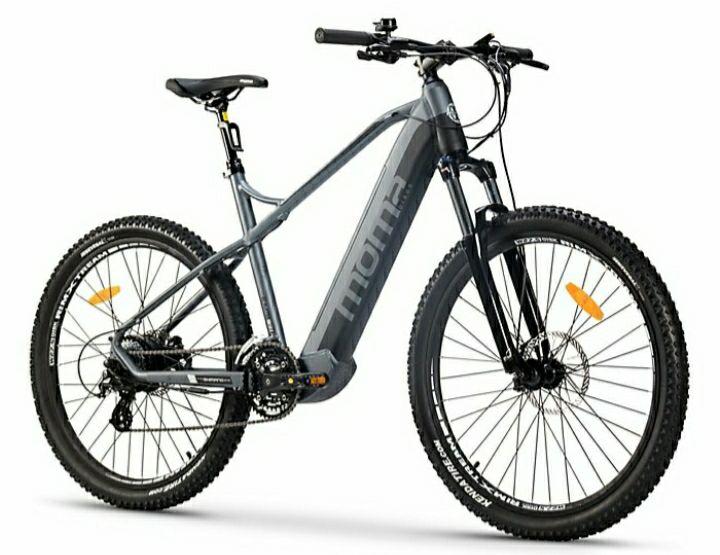 """Vélo électrique Moma Bikes EMTB-27.5"""" - suspension avant - 250 W - 25 km/h"""