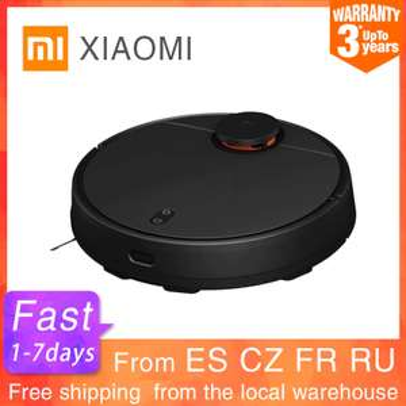 Aspirateur Robot Xiaomi MiJia STYJ02YM - noir (entrepôt France)