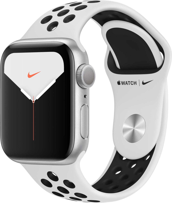 Montre connectée Apple Watch Nike Serie 5 - 40mm, bracelet sport, aluminium