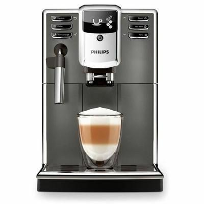 Machine à café Espresso automatique Philips EP5314/10 - 15 Bars, Broyeur céramique, Mousseur à lait classique, Ecran LCD, Gris Anthracite