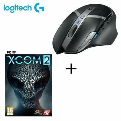 Souris gaming sans fil Logitech  G602 + Xcom 2 sur PC