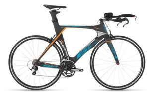 Vélo de TriathlonNH Aerolight RC Carbone Shimano Ultégra 11V - Noir/bleu/orange (stockovelo.fr)