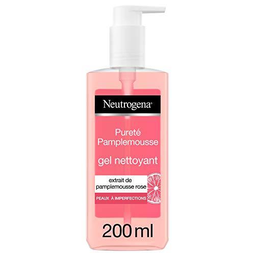 Flacon pompe de Gel Nettoyant Neutrogena Visibly Clear - Pamplemousse Rose, 200ml