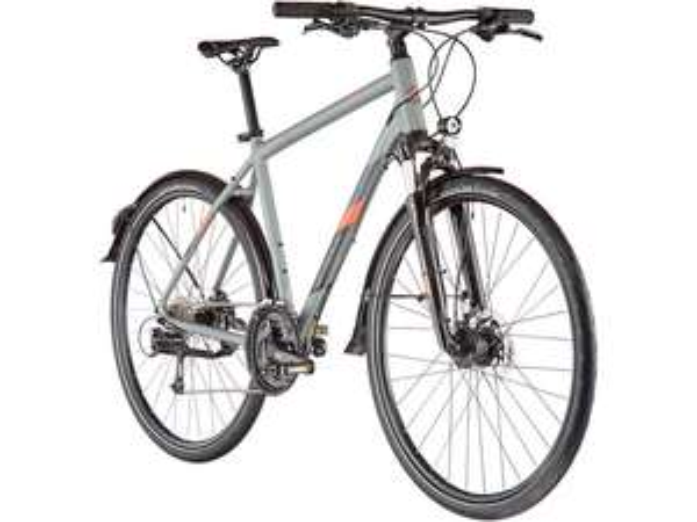 """Vélo VTC 28"""" Serious Sonoran Street (2020) - taille 52 cm, coloris dark grey"""