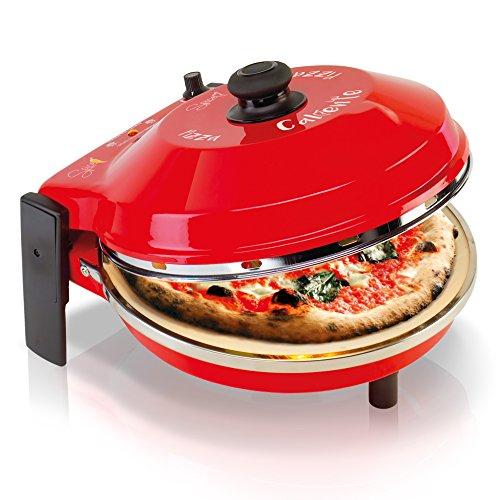 Four à pizza Spice Caliente SPP029-R - Pierre réfractaire 400°, 32 cm