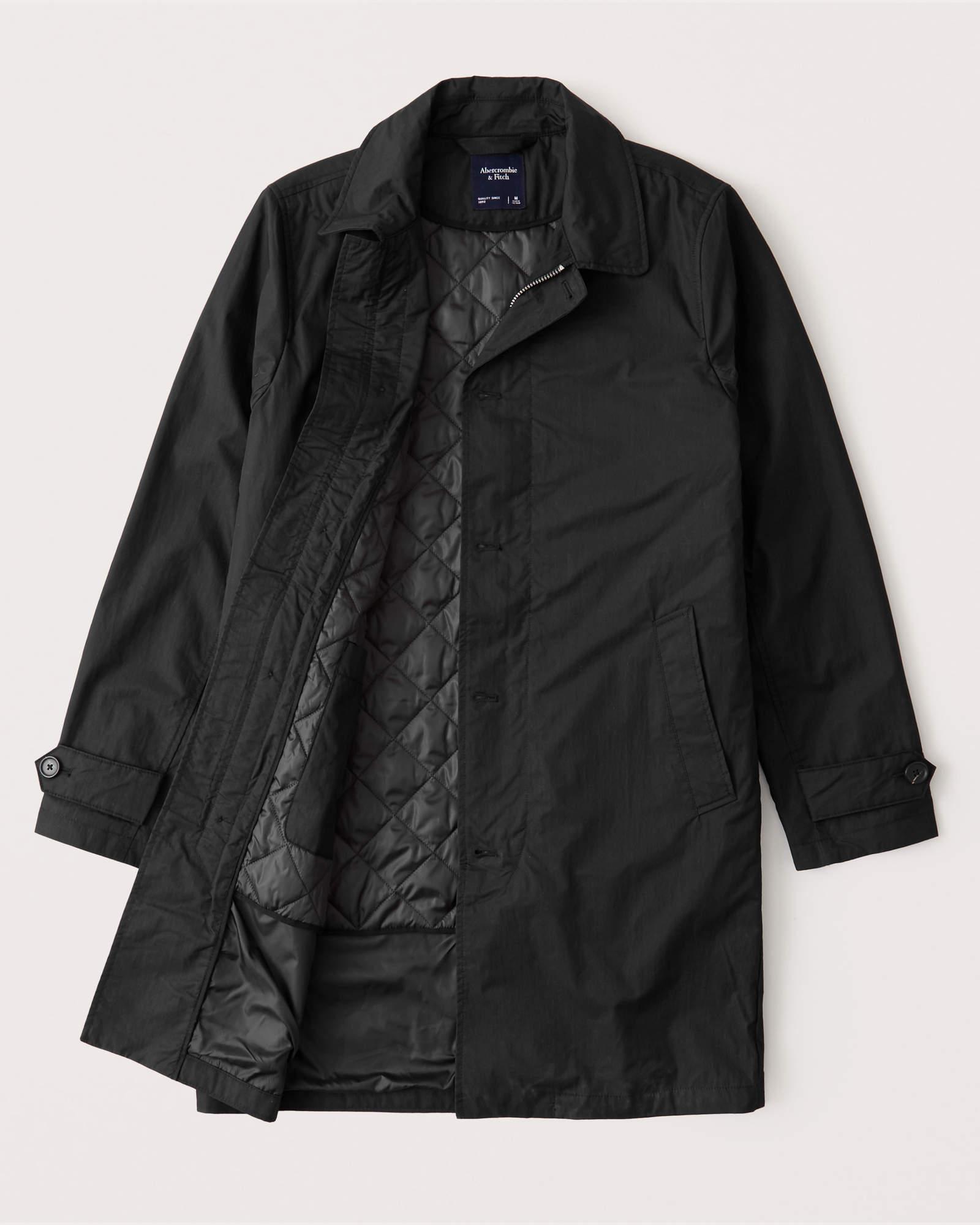 Manteau mi-saison imperméable pour Homme - Tailles XS et M
