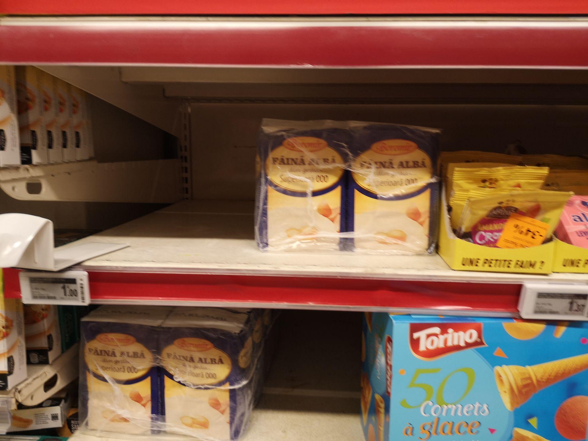 Sac de Farine de blé extra - 1 kg, DLUO Courte (via 0.99 € sur la carte fidélité) - Bois Sénart Cesson (77)