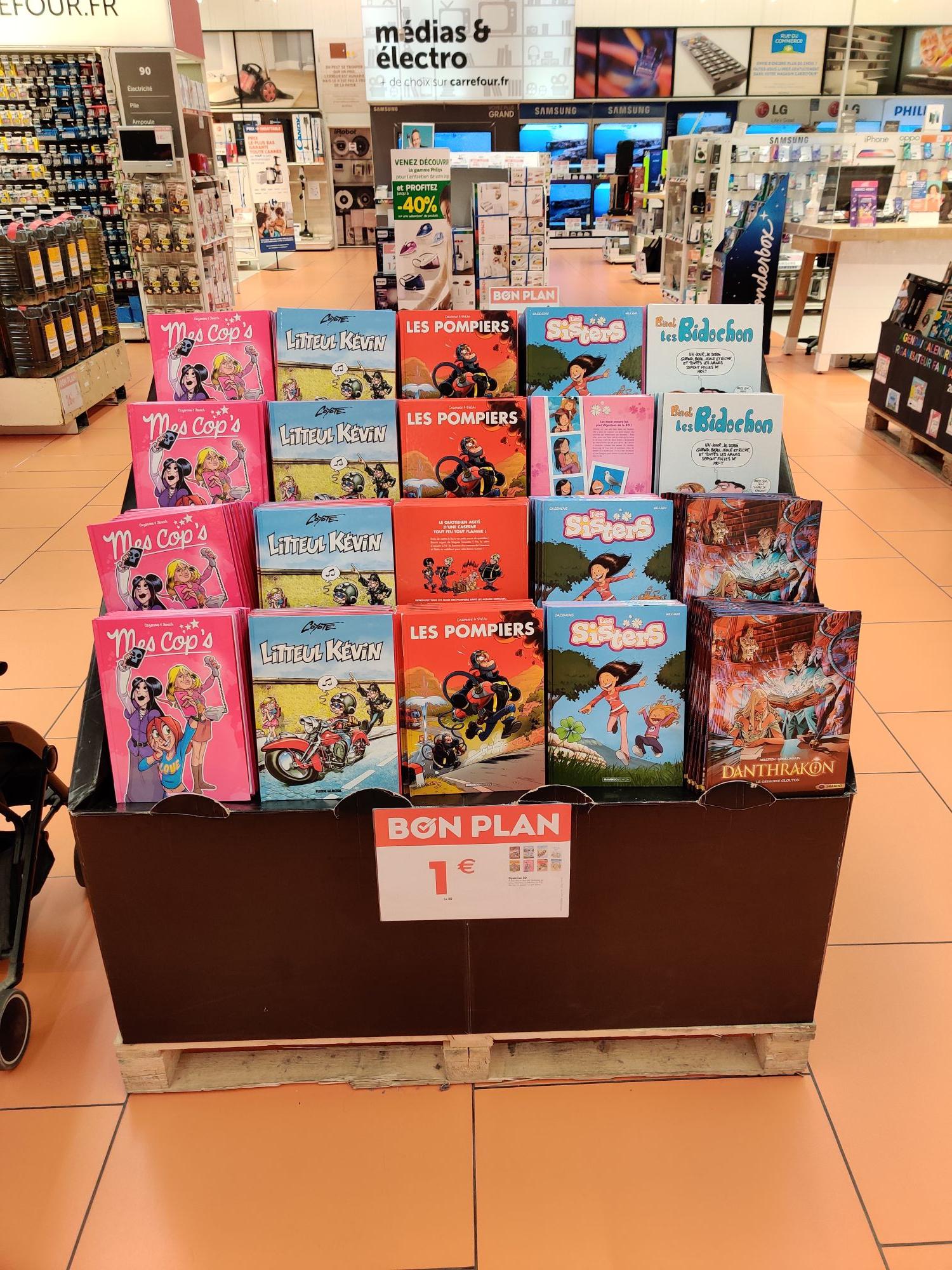 Sélection de bandes dessinées à 1€ - l'Isle d'Abeau (38)