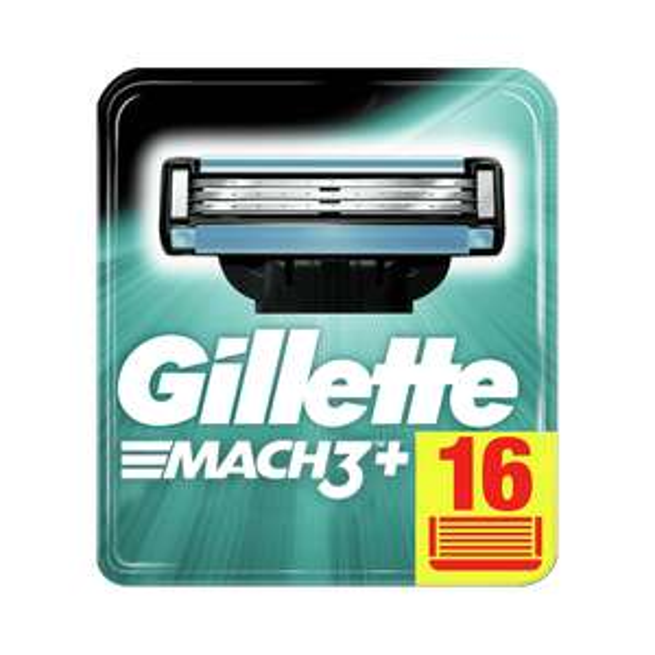 Pack 16 lames + étui Gillette Mach 3 (gillette.fr)
