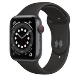 Apple Watch Series 6 cellular Sport - 44mm, Noir ou bleu