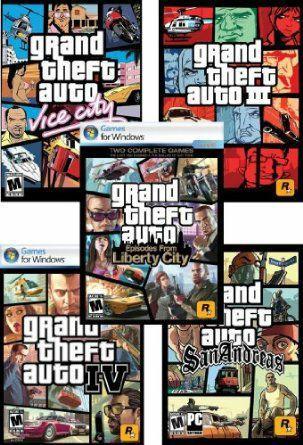 Sélection de jeux Rockstar Games en promotion sur PC (Steam) - Ex : Pack Grand Theft Auto (III, Vice City, San Andreas, IV...)