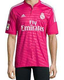 Maillot de football Adidas Real Madrid Climacool - Rose
