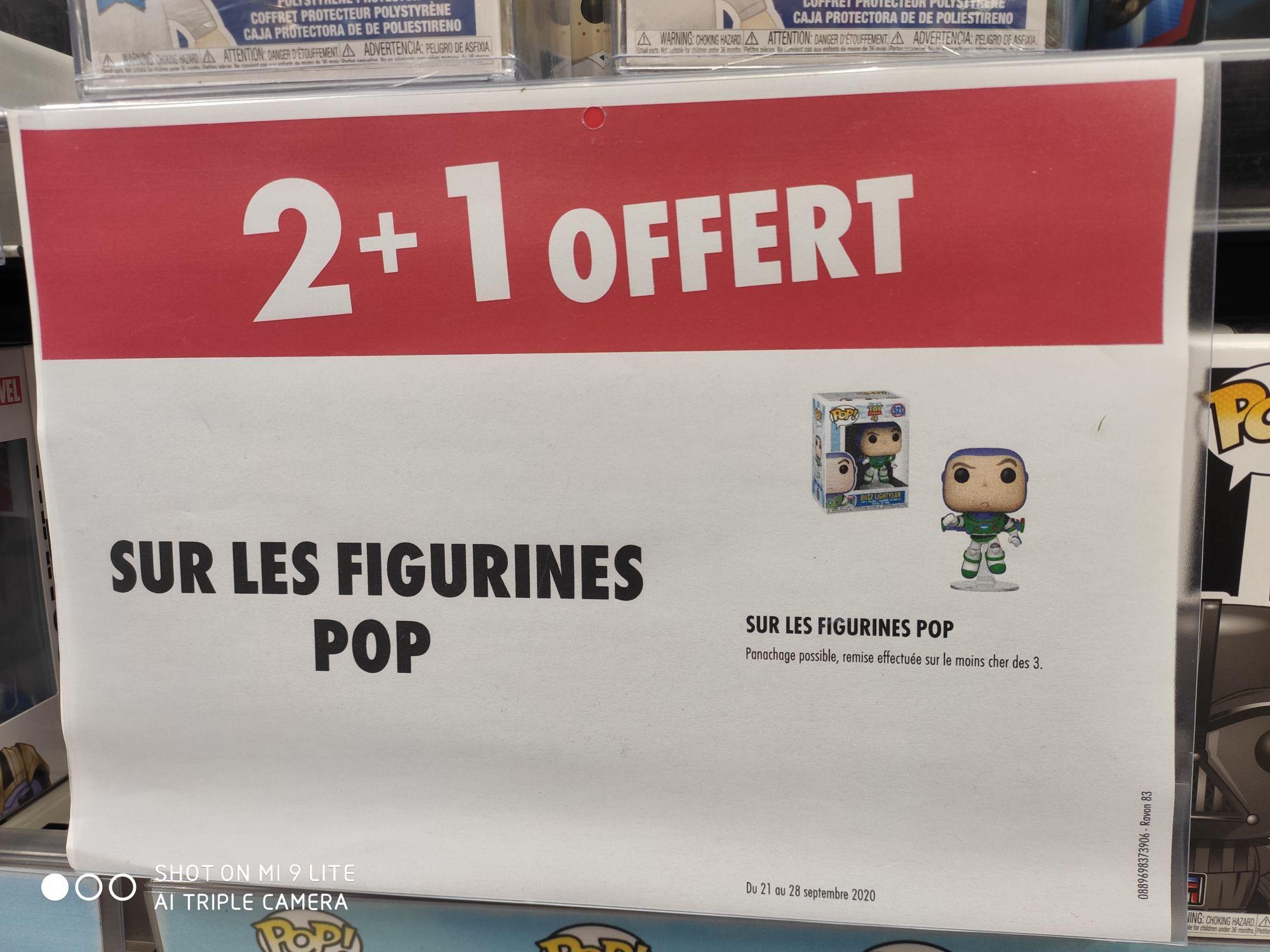 2 Figurines Funko Pop! achetées = la 3ème offerte (la moins chère) - Barentin / Tourville-la-Rivière (76) / Montereau (77)
