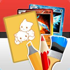 Application Card Maker Creator for Pokemon gratuite sur iOS