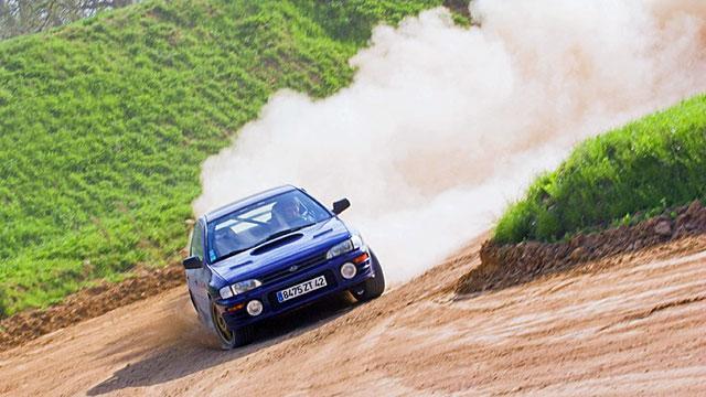 Stage de pilotage en Subaru Impreza