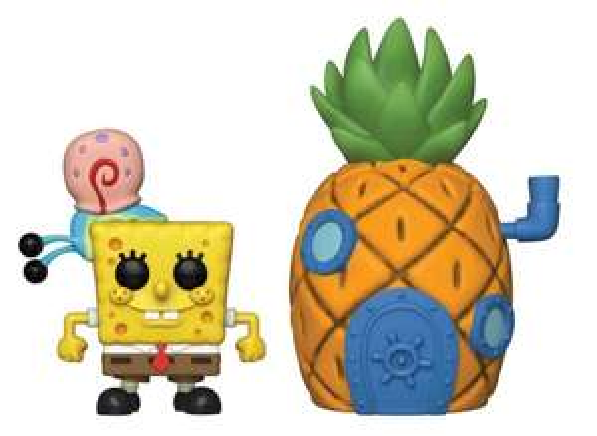 Figurine Funko Pop! N°02 Town - Bob L'éponge - Bob avec l'ananas
