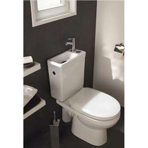 WC 2 en 1 Duetto 2 : Lave-main + toilette
