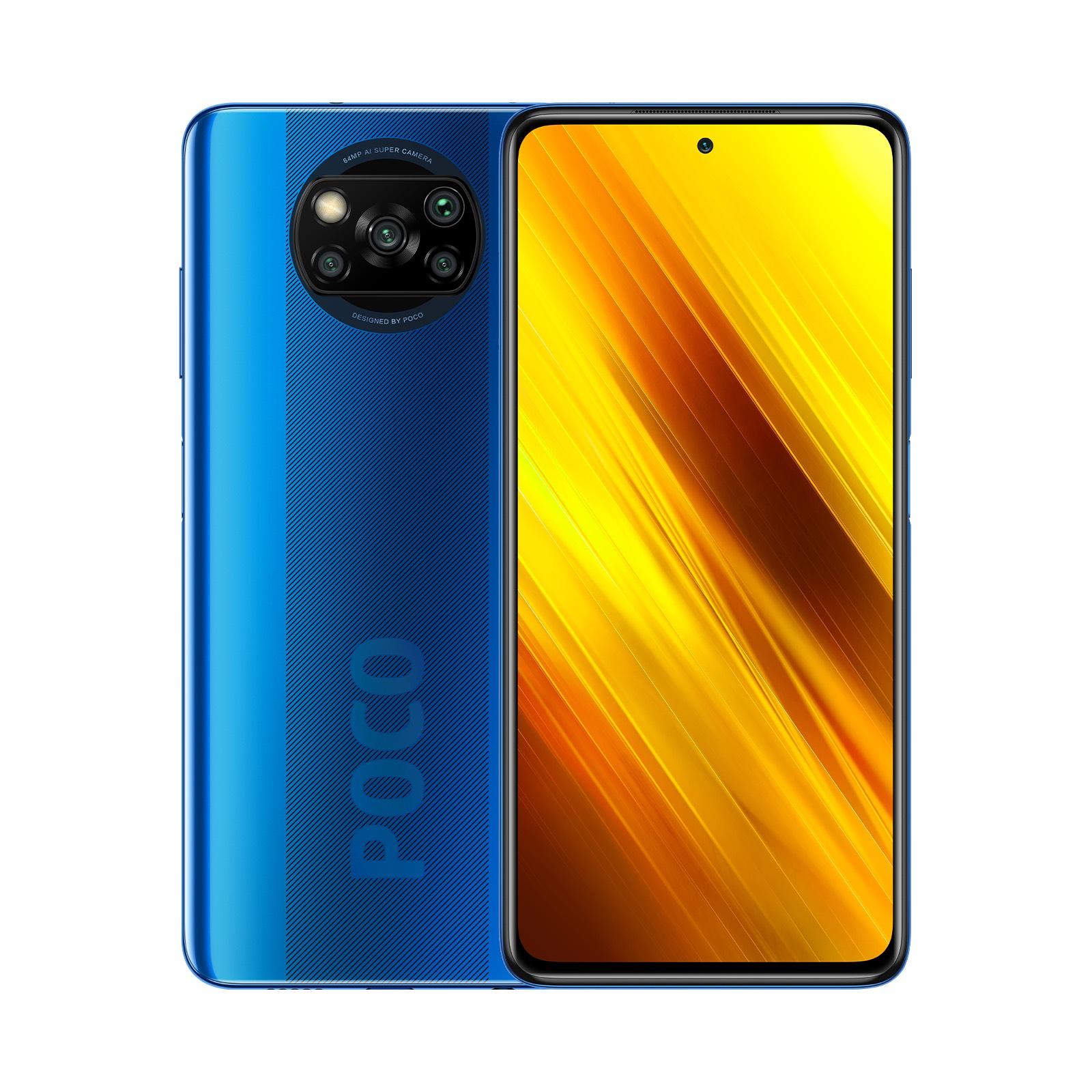 """Smartphone 6.67"""" Xiaomi Poco X3 - 6 Go de Ram, 64 Go"""