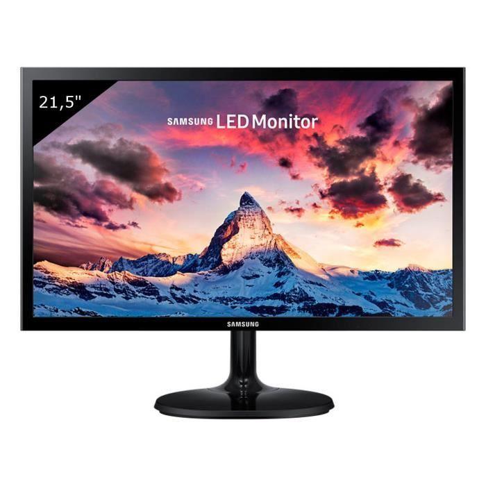 "Ecran PC LED 22"" Samsung S22F350F - Full HD, 60Hz, FreeSync, 5ms"