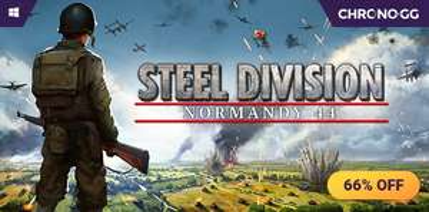 Steel Division Normandy 44 sur PC (Dématérialisé - Steam)