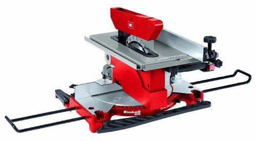 Scie à onglet / table Einhell 2112 T (1200 W, Largeur de coupe maximale 120 mm, Table pivotante, Tête de scie inclinable)