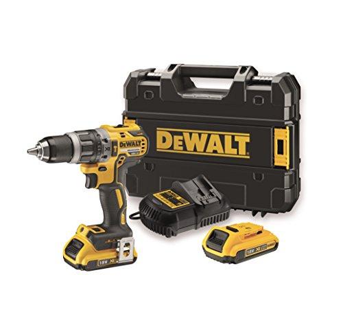 Perceuse/visseuse DeWalt DCD796 (18V Brushless) + 2 Batteries 2Ah + Chargeur + Mallette de transport