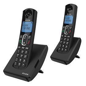 Sélection de téléphones fixes sans fil en promotion - Ex : Alcatel F680 Duo