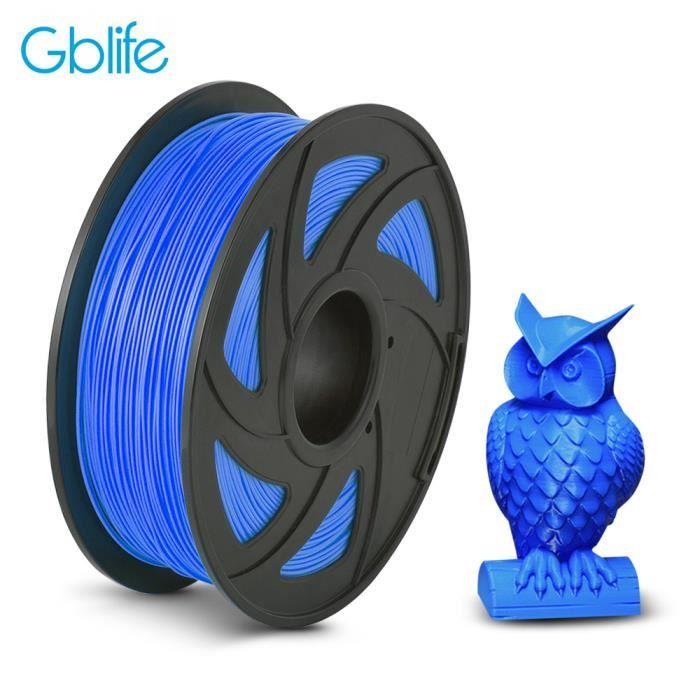 Filament pour imprimante 3D GBLife - épaisseur de 1.75 mm, 1 kg, bleu (vendeur tiers)