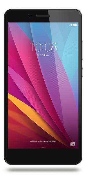 """Smartphone 5.5"""" Honor 5X - Full HD, Snapdragon 616, 16 Go, 2 Go de Ram, Gris + Carte microSDXC Samsung 64 Go (via ODR de 30€)"""