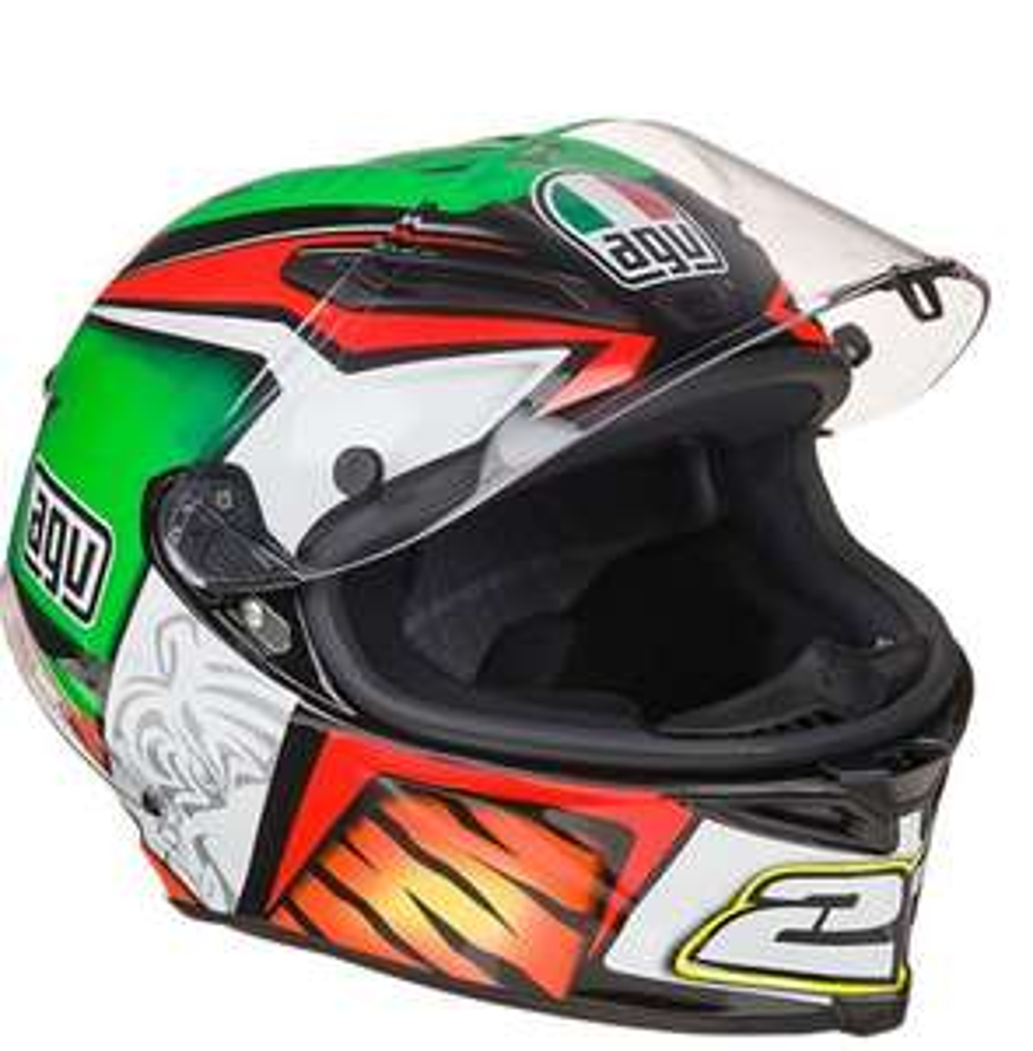 Casque moto intégral AGV Race Corsa Replica 23 - Pinlock inclus, Tailles XL et 2XL