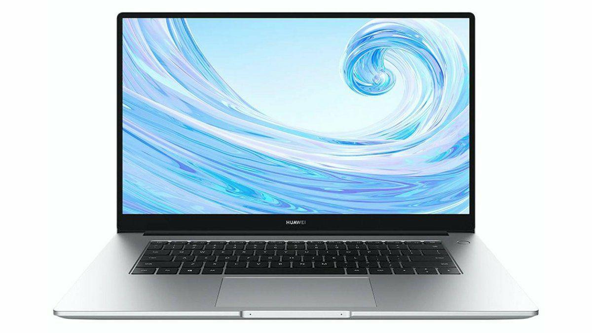 "PC portable 15.6"" Huawei MateBook D 15 - full HD FullView, Ryzen 5 3500U, 8 Go RAM, 256 Go SSD, Windows 10, AZERTY (frontaliers Belgique)"