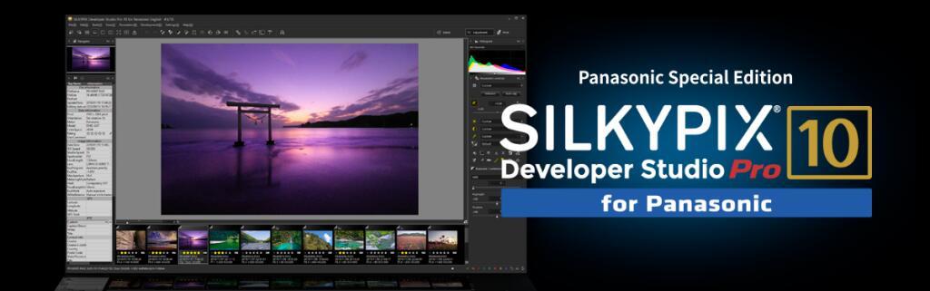 Logiciel de traitement photo Silkypix Developer Studio Pro 10 for Panasonic/Fujifilm sur PC/Mac (Dématérialisé - silkypix.isl.co.jp)