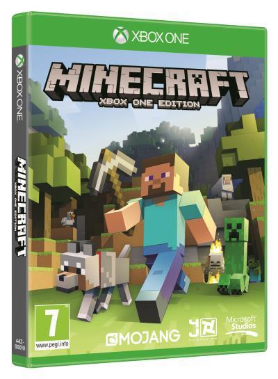 Jeu Minecraft sur Xbox One