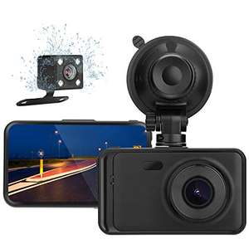 DashCam Mypin Double Caméra 1080p avant et arrière 170° (Via Coupon - Vendeur Tiers)