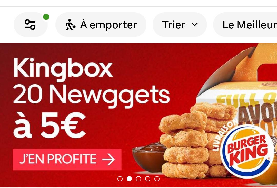 Boîte de 20 nuggets Kingbox Newggets (en livraison) - Neuilly-sur-Seine & Paris La Boétie 8ème / Wagram 17ème (75/92)