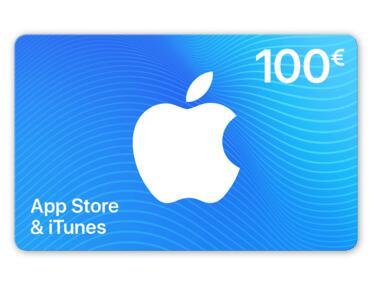 10% de réduction sur les e-cartes App store & iTunes - Ex : Carte 100€ (Frontaliers Belgique)