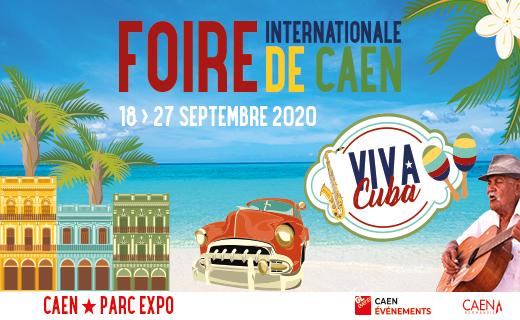 Invitations gratuites pour la Foire de Caen (14) - via formulaire
