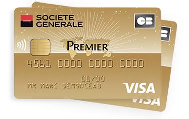 [Adhérents JAZZ et Sobrio] Carte bancaire Visa Premier - 1 An
