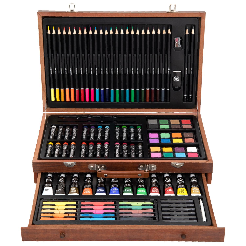 Boîte de peinture et de dessin Creative Artist (112 pièces)