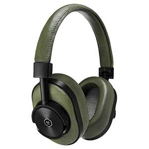 Casque audio sans-fil Master & Dynamic MW60 - noir ou vert