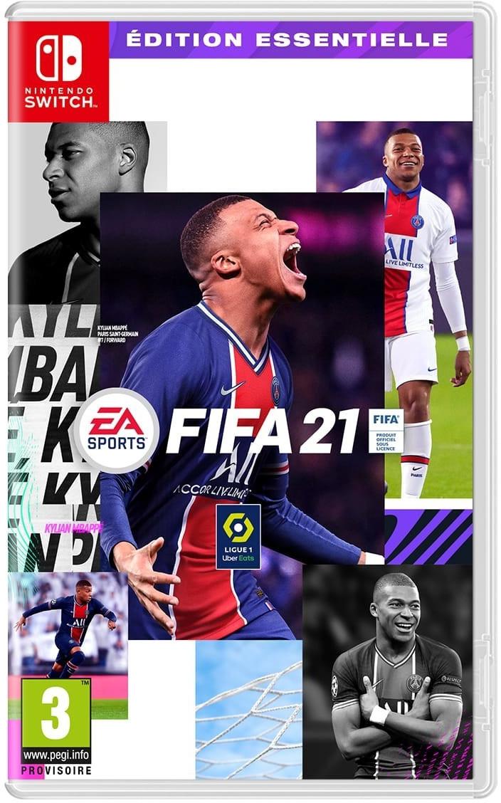 [Pré-commande] FIFA 21 - Édition Essentielle sur Switch (via 5€ sur la carte de fidélité)