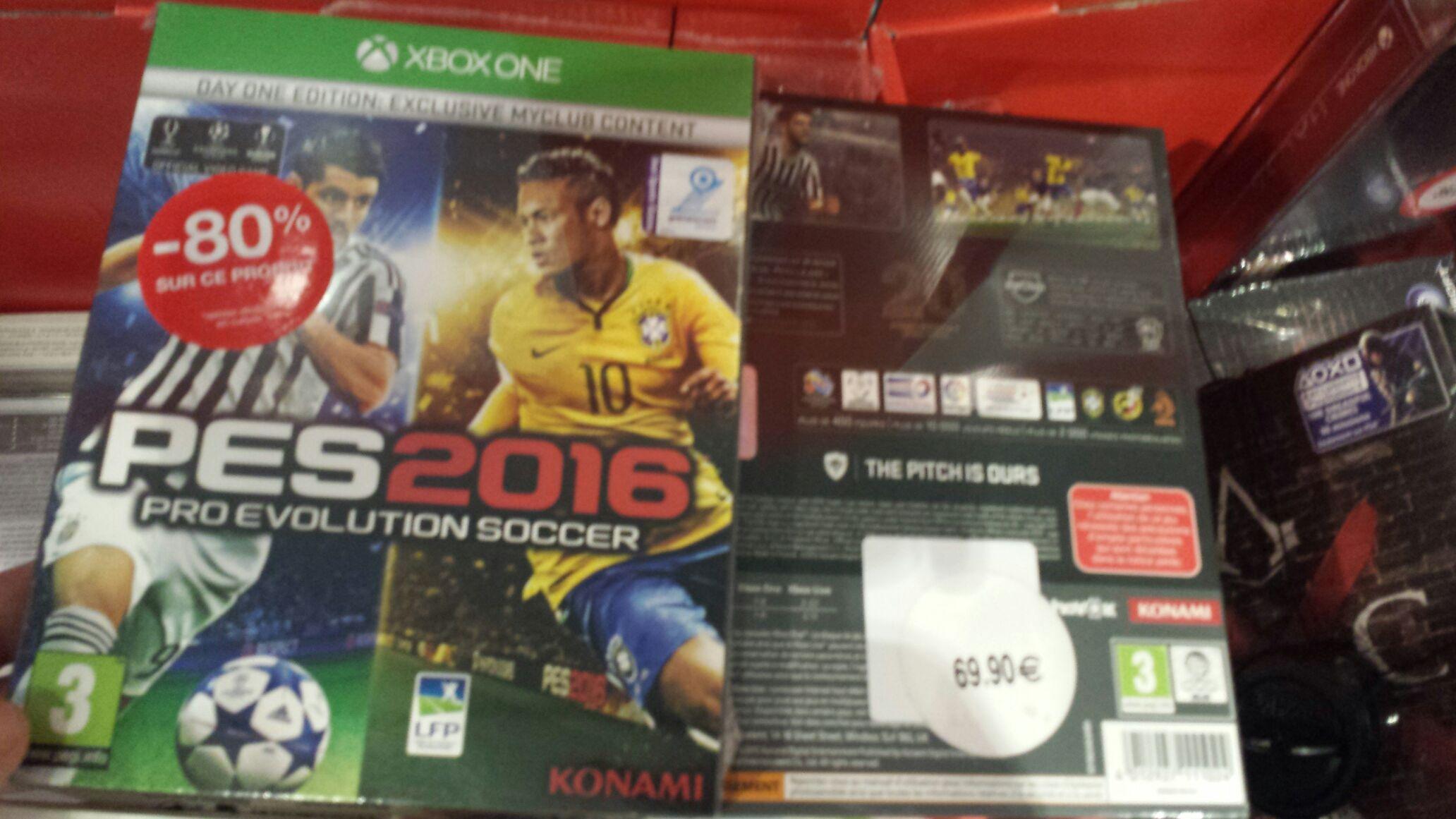 Sélection de jeux PS3 / Xbox 360 / Xbox One en promo - Ex : PES 2016 édition day One sur Xbox one