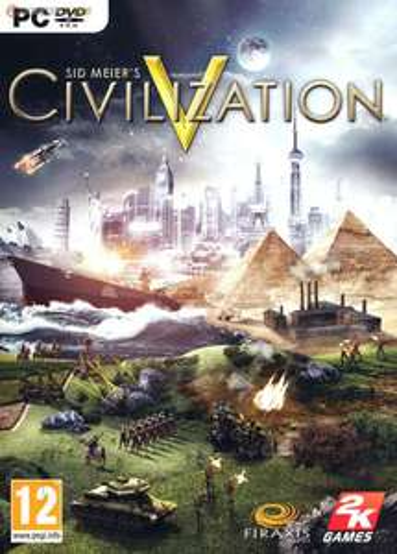 Sid Meier's Civilization V + 9 DLC sur steam