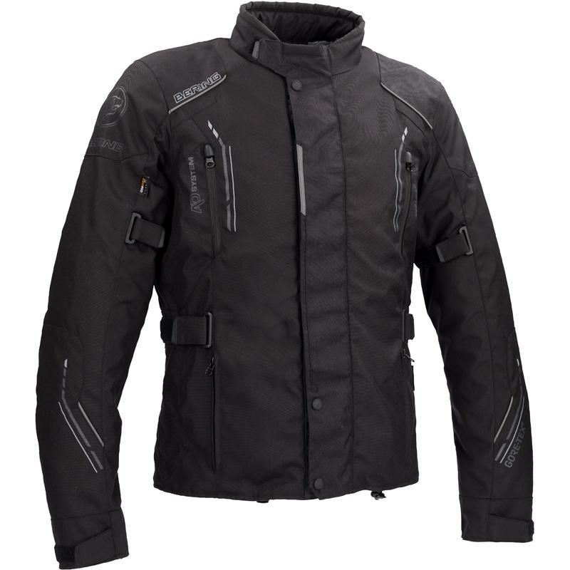 Veste moto Textile Cordura Bering Stomp - Toutes saisons, Gore-Tex (taille M à 3XL)